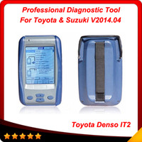 Wholesale Intelligent Tester Toyota - 2014.04 Newest VersionToyota Intelligent Tester II 2 professional diagnostic tool for toyota & Suzuki DHL free shipping