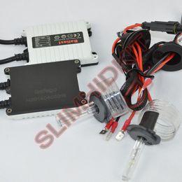 Wholesale Single H4 Hid - 5 sets lot new 12V AC 35W single beam HID xenon kit H1 H3 H4 H7 9005 9006 xenon kit 4300k-12000k