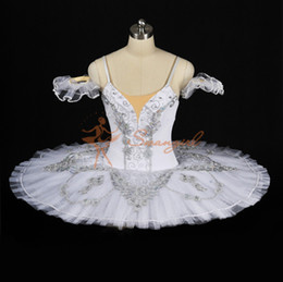 $enCountryForm.capitalKeyWord Canada - Free Shipping Classical Ballet Tutu White Nutcracker Adult Women Kids Girls Size Ballet Pancake For Sale Snow QueenBT8931