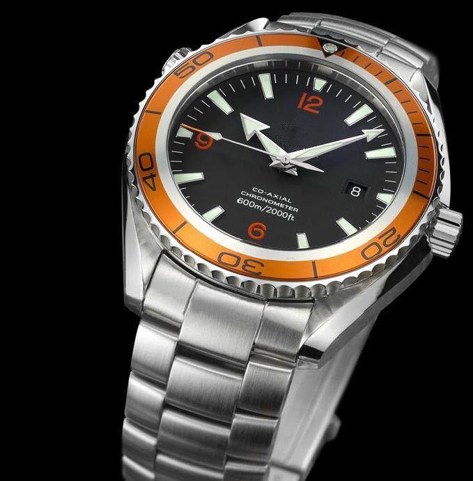 orologio in acciaio automatico uomini caldi di vendita, vigilanza maschio orologio per l'uomo d'affari Calendario automatico orologi da polso OM06