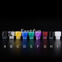 Wholesale Ego Ce4 Ce5 Drip Tip - New Acrylic Drip tip Wide bore Drip tip 12mm ego 510 Drip tips Mouthpieces for CE4 CE5 vivi nova DCT Protank EVOD atomizer 30pcs free ship