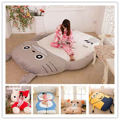 Enjoyable Wholesale Hot Minion Sleeping Bed Despicable Me Totoro Bed Sleeping Bed Cartoon Bed Cartoon Mattress Double Bed Jacket Childs Play Mat Area Rugs For Caraccident5 Cool Chair Designs And Ideas Caraccident5Info