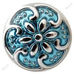 Wholesale B00178 noosa metal mm mini snap button chunk for mm leather bracelet jewelry