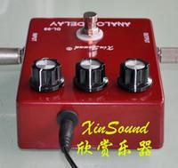 eski analog toptan satış-Gerçek Bypass ile Vintage BBD Analog Gecikme DL-99A XinSound Pro SERİSİ Bozulma olmadan Düşük gürültü tasarımları