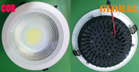 Wholesale Led 9w Lm - led COB Panel light ceiling lights LED Bulb 2800 LM Lumen 3W 5W 7W 9W 12W 15W 18W 21W 30W LED Down Lamp Real High Power New Arrival By DHL