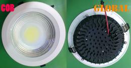 Wholesale High Power Ceiling 7w Led - led COB Panel light ceiling lights LED Bulb 2800 LM Lumen 3W 5W 7W 9W 12W 15W 18W 21W 30W LED Down Lamp Real High Power New Arrival By DHL