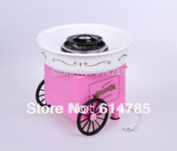 Wholesale Hot Sale Candy Cotton Maker Household Cotton Candy Machine Floss maker Pink color candy floss machine