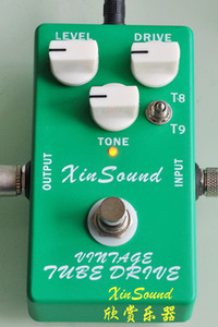 Vintage Tube Screamer Overdrive Handmade effects TS808 and TS9 combo Overdrive by XinSound and NEW True Typass