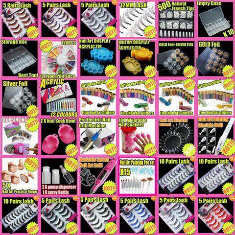 Fast & Free Shipping nail polish set 20 New Nail Art Crack Nail Polish Varnish Set F291