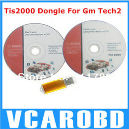 Wholesale Tis Software - Top-Rated TIS2000 GM Tech2 TIS 2000 Software CD and USB dongle TIS2000 USB KEY used in gm tech2 scanner from Yoga yu
