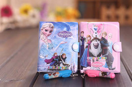 Wholesale Notebook Pen Set Wholesale - New 10 x Frozen Stationery Sets Ballpoint pen & Notepad Notebooks Party Gifts