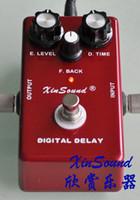 gitarreneffektpedale verzögern groihandel-Guitar Delay Effektpedale 400ms Delay Zeit DL-40 von XinSound