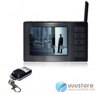 Wholesale-FPV 2,4 pollici 5.8G Wireless Receiver 8CH / DVR / monitor multifunzione