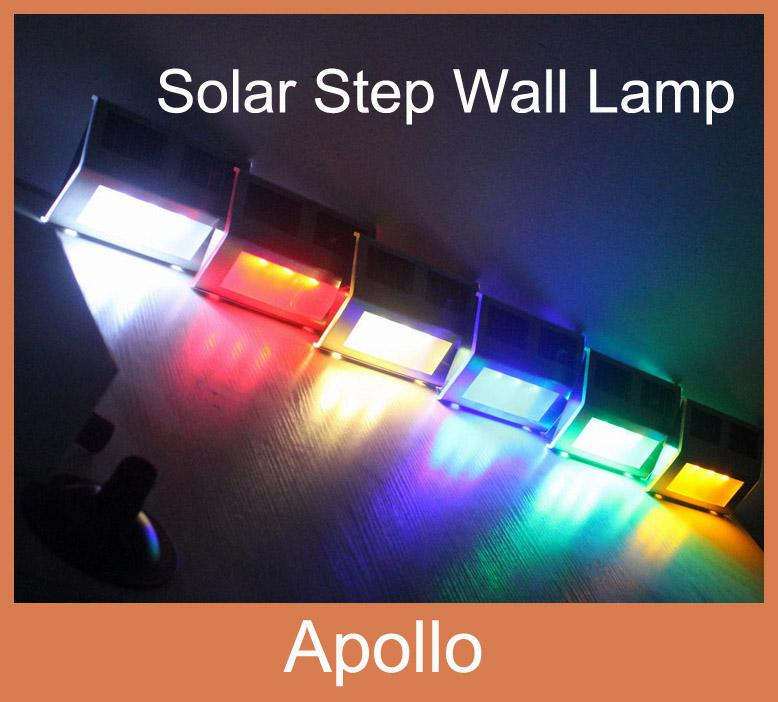Online Cheap Solar Stair Lamp Wall Light Solar Garden Light Solar Pathway  Deck Corridor Step Light Sun Powered Lamp Led Outdoor Solar Garden Lawn  Lamp By ...
