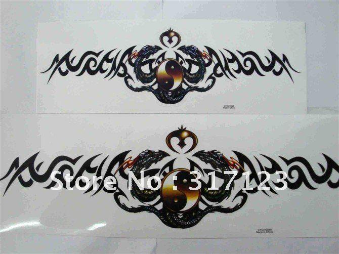 Dragon Vinyl Motorcycle Stickers Cm Big Size Car Decals - Motorcycle bumper custom stickers