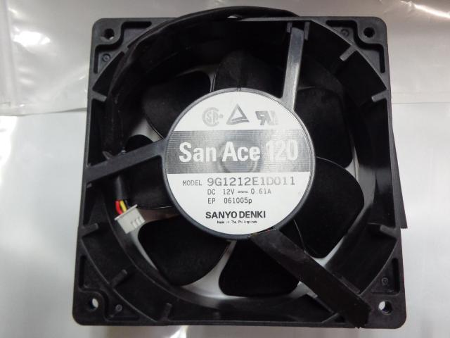 Neue Original Sanyo 9G1212E1D011 DC12V 0.61A 12 cm 120 * 120 * 38 MM Alarm Signal dual kugellager kühlung
