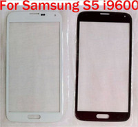 Wholesale S2 Screen Replacement - Glass lens Touch Screen Sapphire Blue Black White for Samsung Galaxy S5 S4 S3 S2 MINI Front Glass Screen Replacement Part