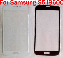 Wholesale Galaxy S3 Glass Replacement Blue - Glass lens Touch Screen Sapphire Blue Black White for Samsung Galaxy S5 S4 S3 S2 MINI Front Glass Screen Replacement Part
