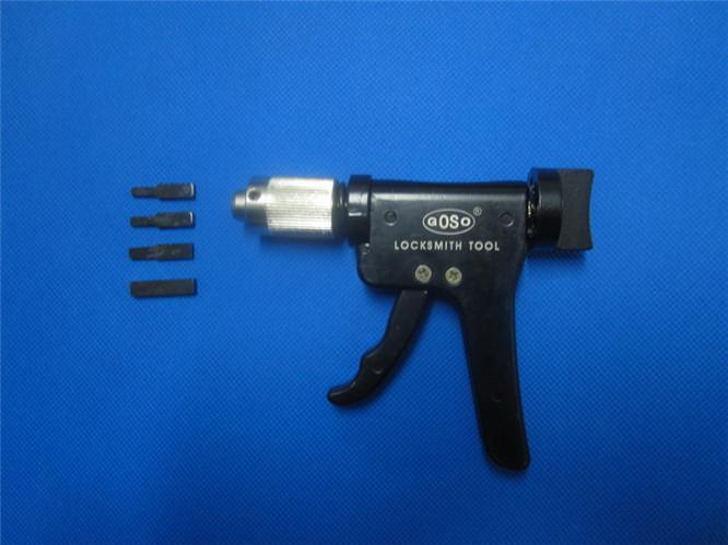 GOSO lock pick gun Plug Spinner .. LOCKSMITH FERRAMENTA lock pick set fechadura da porta abridor de cadeado ferramenta chave colisão chave cruz S059
