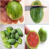 sementes de melão venda por atacado-Amarelo / Vermelho Mini Sementes De Melancia Jardim Fornece Sementes de Frutas Sementes De Melão Saudável Saudável 30 pçs / lote RY1468