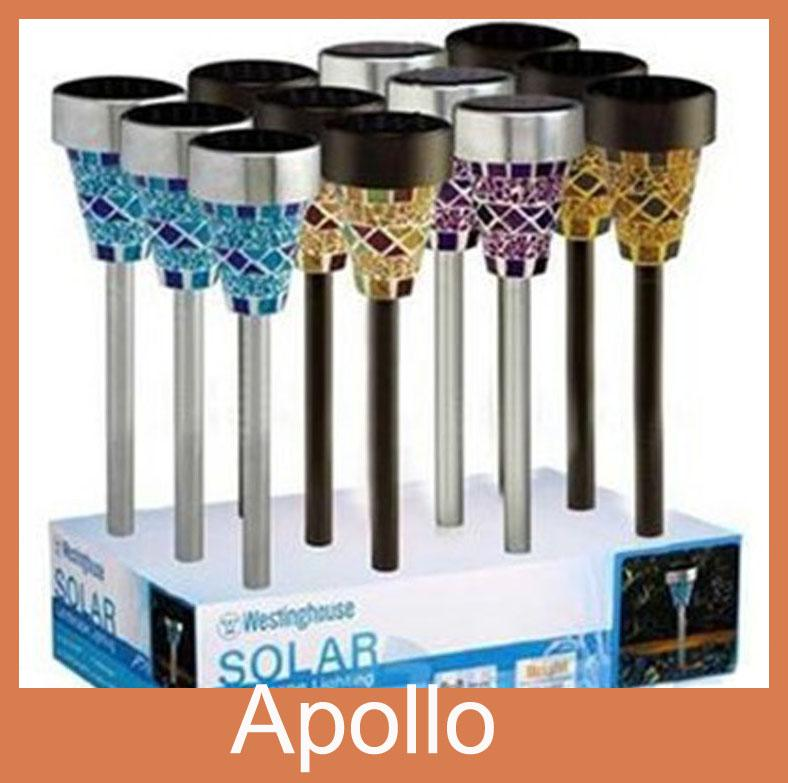 Awesome Mosaic Solar Lights Part - 4: Online Cheap Glass Mosaic Solar Lawn Light Solar Garden Lights Outdoor  Garden Lawn Lamp Colored Decoration Led Courtyard Lawn Lamps By Apollo_led  | Dhgate.