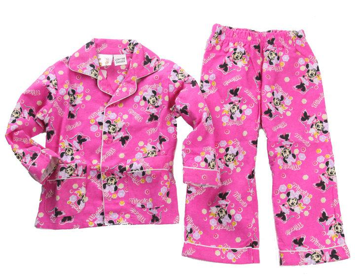 Children'S Pajamas Baby Girls 1 4y Minnie Mouse Long ...
