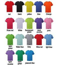 154debac83e351 Custom Sports T Shirt Canada - S-3XL 18 Colours Men O neck Fashion Sport