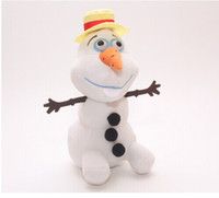 1pcs Frozen Olaf Snowman Stuffed Plush Dolls Olaf plush Toys...