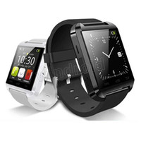 Wholesale Android Cell Phone 4s - Bluetooth Smartwatch U8 U Watch Smart Watch Wrist Watches for 4S 5S S4 S5 Note 2 Note 3 Android Smart cell Phone Smartphone free shipping