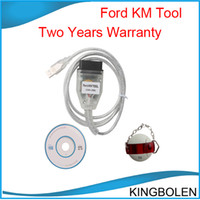 Wholesale Scanner Odometer Correction - 2015 Hot selling Professional Odometer correction tool for Ford Scanner Ford KM Tool Can Bus Two years warranty