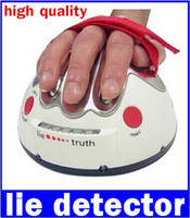 Wholesale Lie Detectors - New fashion Ultimate Shocking Liar Electric Shock Game Lie Detector Q new free shipping