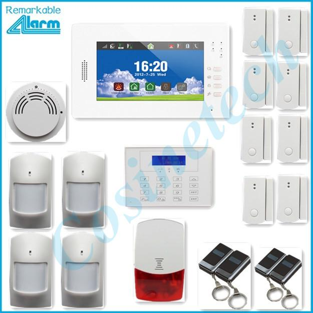 Good Home Security 868mhz Alarm System With 7 Inch Touch Screen,Smart Ios  Android App, Gsm Alarm System Panel With Long Life Li Ion Battery Home  Security Sign ...