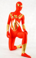 Wholesale Custom Made Armor - Iron Spider Armor Spandex Superhero Costume Halloween Cosplay Party Zentai Suit