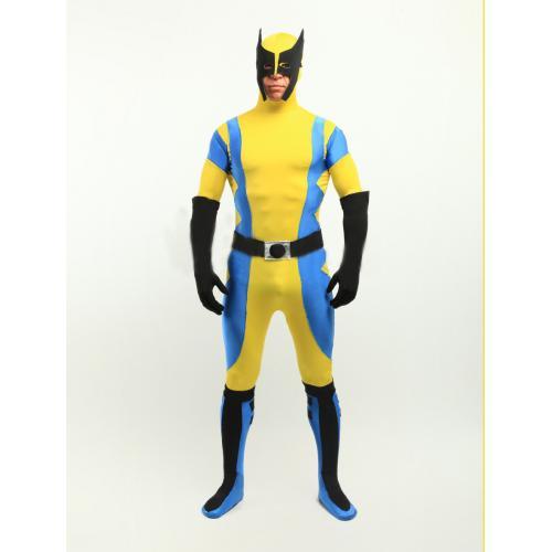 X-Men Wolverine Spandex Superhero Costume Halloween Cosplay Party Zentai  Suit X Men Costumes Wolverine Zentai Suit Online with $53.01/Piece on  Byydgj's ...