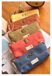 Wholesale Curtains Bag - Vintage Small universe Pencil Bag Pen curtain Stationery Storage Bag Cosmetic Bags Cases Pencil Bag Case