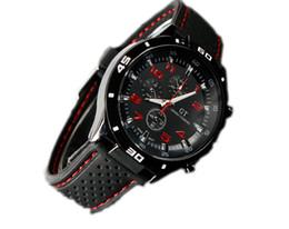 Wholesale Watch Men Aviator - man WATCH Jelly watch Men Causal SPORT Military Pilot Aviator Army Silicones Racer Watch Brand Silicone Brand
