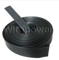 ingrosso tubo termoretraibile termoretraibile-Tubo per tubi termorestringenti nero 50M per 8 / 10mm 3528 5050 LED Strip RGB singolo colore