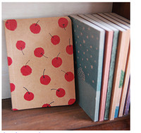 Wholesale New Vintage Style Paper - Free shipping  korean Stationery New vintage style paint pattern Notebook  Paper Notepad