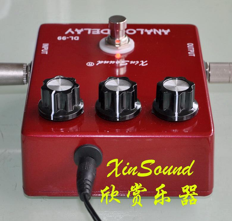 XinSound Pro DL-99B True Bypass 600ms Vintage Analog Delay Pedal and TRUE BBD CIRCUIT
