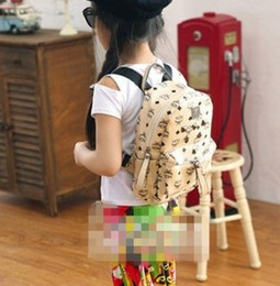 Wholesale Kids School Bags Leather - Wholesale Girls Backpacks Childrens Bags Kids School Bags Fashion Bag PU Leather Bag Book Bag