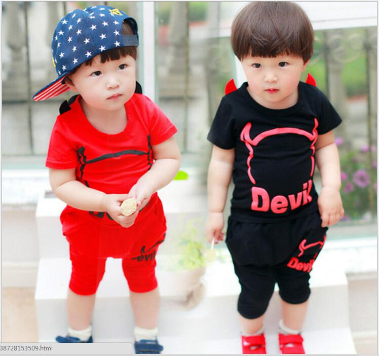 The New Summer Clothes 0-1-2-3 - Year - Old Baby Boy Children Summer  Short-sleeved Dress Casual Sport Online with  53.92 Piece on  Houqizhixiu55888 s Store ... fe9f04c1cc00