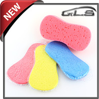 Wholesale Brushes For Car Washing - Free Shipping Car Washing Compressed Sponge Good Helper For Car Washing High Quality Sponge Cleaning Tools