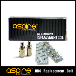 $enCountryForm.capitalKeyWord Australia - Hot Selling Electronic Cigarette Coil Geniue Aspire BDC Replacement Coils Atomizer Heads, Aspire BDC Dual Coils New Product for 2014