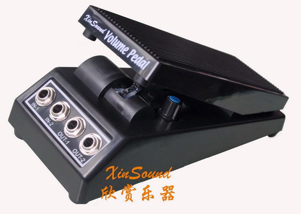 2019 stereo volume pedal dj guitar effect pedal vp 109 stereo xinsound by handmade from xinsound. Black Bedroom Furniture Sets. Home Design Ideas