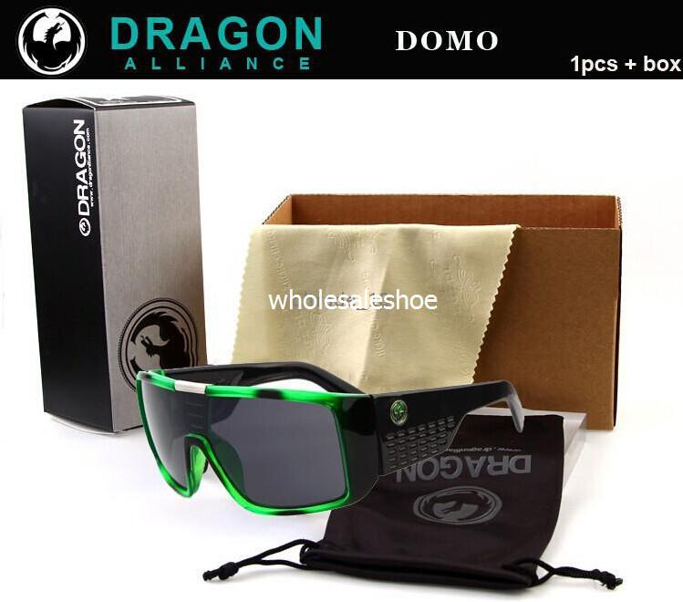 2d4a148f80d69 Compre Dragon Domo Óculos De Sol Óculos De Sol Óculos De Tons De 100% De  Proteção UV Moda Masculina Óculos De Sol Dragon Vidro DHL Frete Grátis De  ...