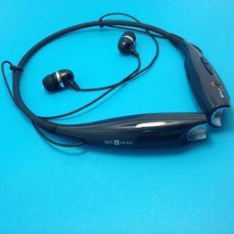 Wholesale Bluetooth Earphones For Cellphones - HB 800 Wireless Sport Bluetooth Stereo Headset Neckband Earphone Headphone Handfree for Cellphone iPhone iPad Nokia HTC Samsung LG Moto PC