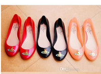 Wholesale New Korean Womens - Brand New Korean Free shipping - 2014 new Womens Melissa Jelly shoes universal pattern 3Color