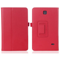 Wholesale Magnetic Stylus - PU Leather Folio Case Cover for Samsung Galaxy Tab 4 10.1 T530 7.0 T230 W  Stylus Holder Magnetic Sleep Wake UP Stand Function
