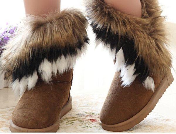 12781 gf-89 botines australianos botas australianas abrigadas forro abrigo compra  botas con pelo por fuera zapatos otono invierno 2010 11 pelo3 b64b8749bd3fc