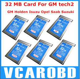 Wholesale tech2 cards - 2018 DHL Free!! Top rated Professional 32MB memory CARD FOR GM TECH2 CARD